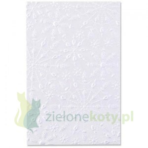 Folder do embbosingu Sizzix  3D Jeweled Snowflakes Śnieżynki