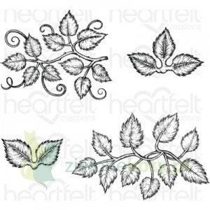 Stemple Heartfelt Creations Leafy Accents Liście
