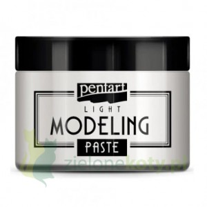 Pasta strukturalna Pentart Light Modeling Paste 150 ml