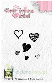 Stempel Nellie's Choice Mini   Hearts Serduszka