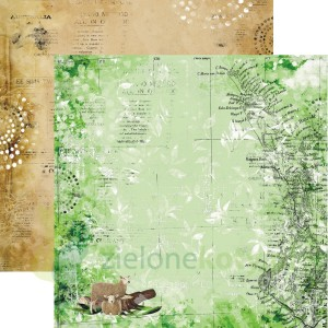 Papier  30x30 13arts  Down Under 04 The green land