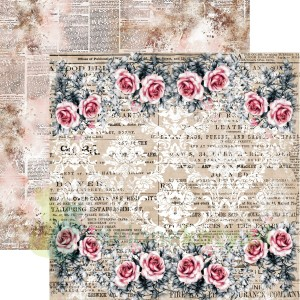 Papier  30x30 13arts  Rosalie 01 Secret Letters
