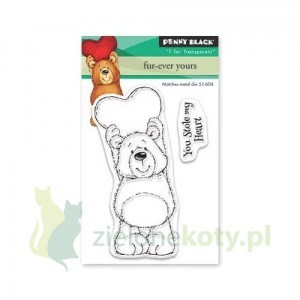 Stempel akrylowy Penny Black Fur-ever yours, miś