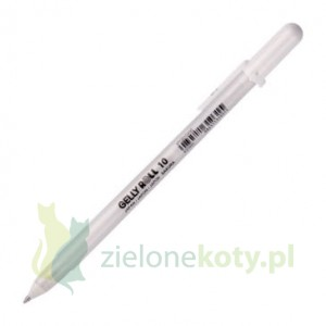 Pisak Sakura Gelly Roll Pen 0,5mm biały