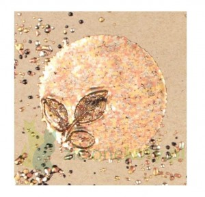 Puder do embossingu Stampendouse Frantage Chunky metallic Enamel