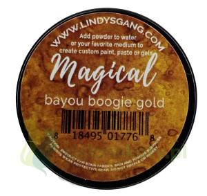 Pigment Lindy's Stamp Gang Magical bayou boogie gold
