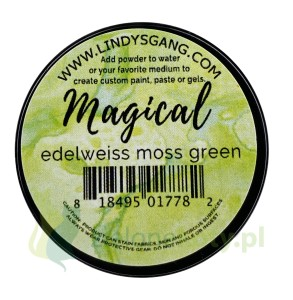 Pigment Lindy's Stamp Gang Magical edelweiss moss green