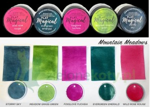 Pigment Lindy's Stamp Gang Magicals Mountain Meadows 5 szt.