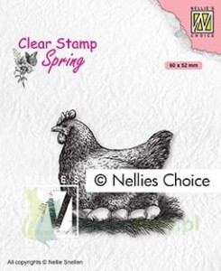 Stempel Nellie's Choice Morther hen kura