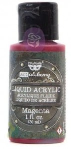 Farba akrylowa Prima Art Alchemy Liquid Acrylic Paint Magneta 30ml
