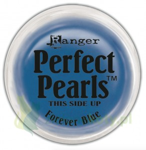Pigment Perfect Pearls  perłowy forever blue poppo