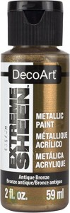Farba metaliczna DecoArt Extreme Sheen Antique Bronze