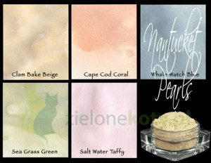 Pigment Lindy's Stamp Gang Magicals Shimmer Powders Nantucket 5szt.
