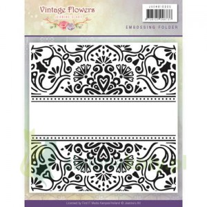 Folder do embossingu Jeanine's Art Vintage Flowers