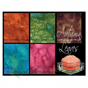 Pigment Lindy's Stamp Gang Magicals Shimmer Powders Autumn Leves