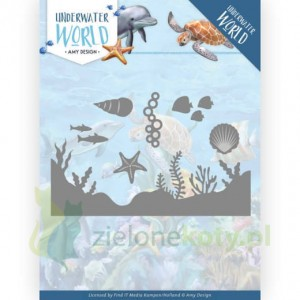 Wykrojnik Amy Design Underwater World Sea life morskie